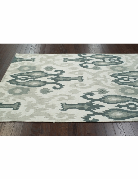 Cici Cotton Rug in Light Gray