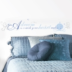 Cinderella A Dream is a Wish Wall Decals