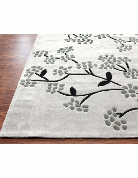 Cine Delicate Rug in Grey
