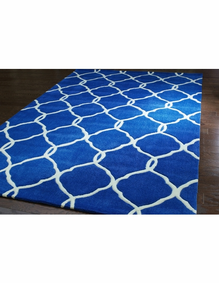 Cine Linx Rug in Navy