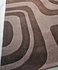 Cine Mazes Rug in Brown