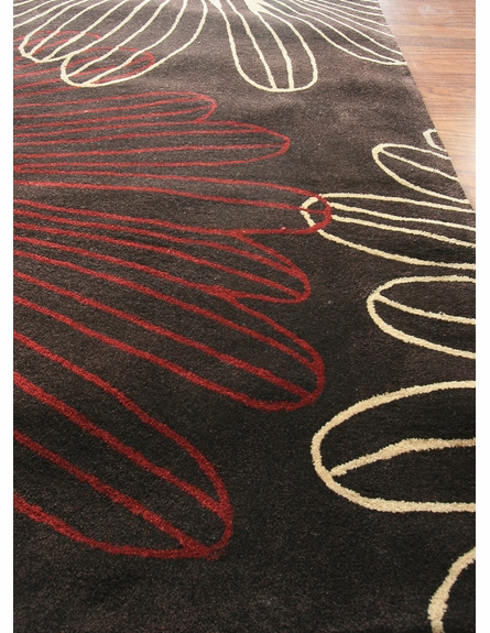 Cine Sparkler Rug in Brown