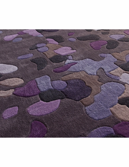 Cine Splash Rug in Purple
