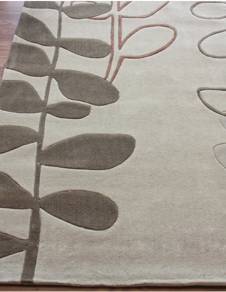 Cine Stems Rug in Beige
