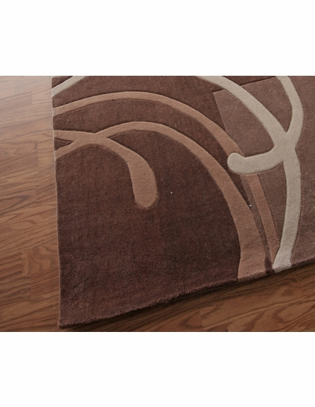Cine Strings Rug in Brown