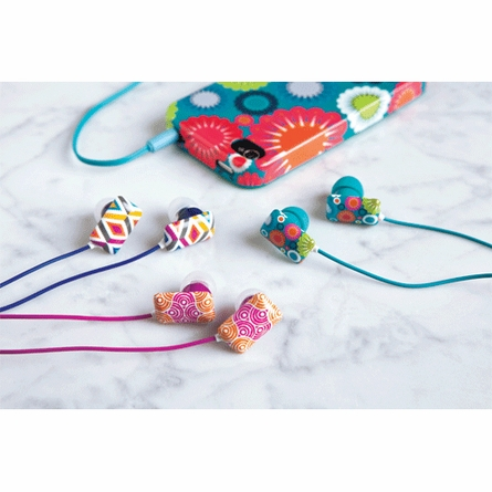 Circle Ornaments Ear Buds