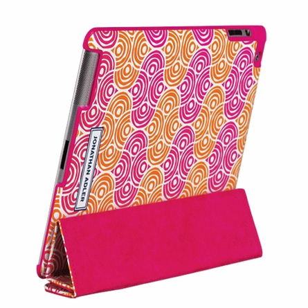 Circle Ornaments iPad Case with Stand