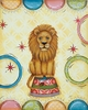 Circus Lion Canvas Reproduction