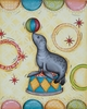 Circus Sea Lion Canvas Reproduction