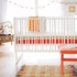Circus Stripe Crib Sheet