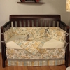 Cirque Blue Crib Bedding Set