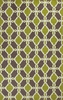 Citron and Taupe Serenity Rug
