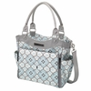City Carryall Diaper Bag - Classically Crete