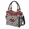 City Carryall Diaper Bag - Frolicking in Fez