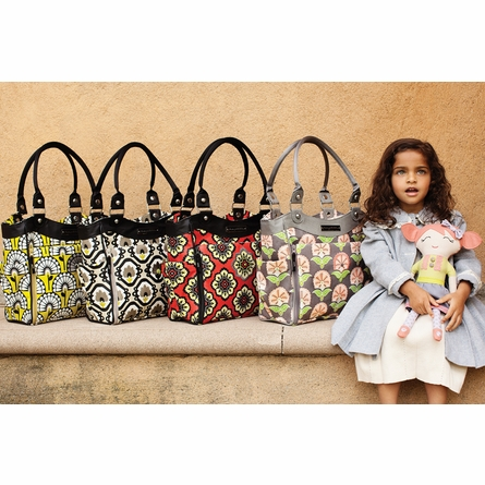 City Carryall Diaper Bag - Lively Lima