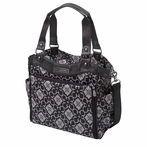 City Carryall Diaper Bag - London Mist
