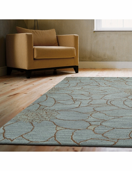 City Park Rug in Azure