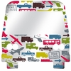 City Traffic Peel & Stick Mirror