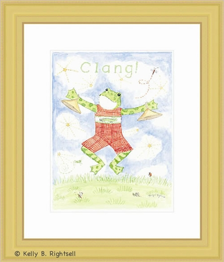 Clang Framed Lithograph