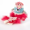 Clara the Closet Monster Baby Bloomers, Headband and Plush Toy Gift Set