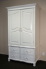 Classic Armoire with Four Drawers