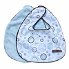 Classic Blue Circle Dot Bib Set