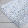 Classic Blue Circle Dot Cotton Changing Pad Cover