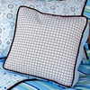 Classic Blue Pillow Cover