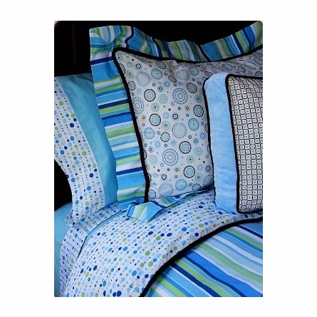Classic Blue Collection Standard Sham