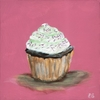 Classic Cupcake Party Sprinkles Canvas Reproduction