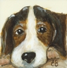 Classic Doggies Beagle Canvas Reproduction