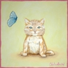 Classic Kitty Canvas Reproduction
