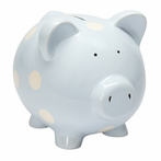 On Sale Classic Pastel Blue Piggy Bank
