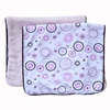 Classic Pink Circle Dot Burp Cloth Set
