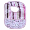 Classic Pink Stripe Coated Bib