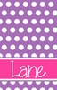 Classic Polka Dot Personalized Playing Cards