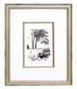 Classic Pooh I Black & White Vintage English Framed Print