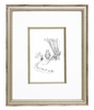 Classic Pooh VIII Black & White Vintage English Framed Print