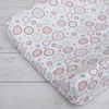 Classic Red Circle Dot Cotton Changing Pad Cover
