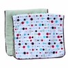 Classic Red Dot Line Burp Cloth Set