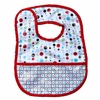 Classic Red Dot Line Coated Bib