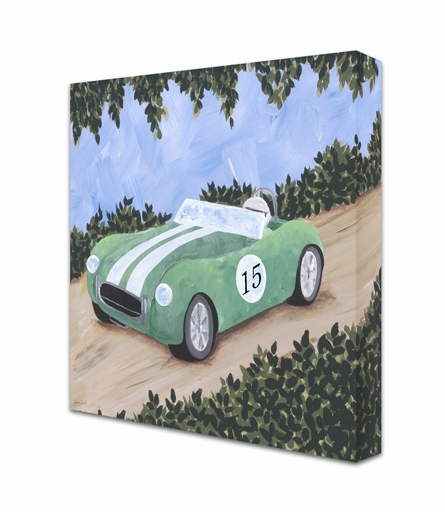 Classic Roadster II Canvas Reproduction