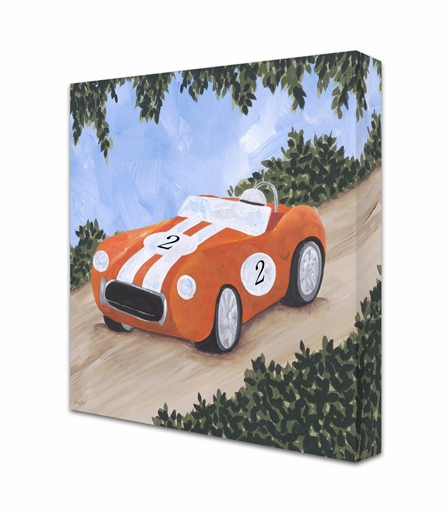 Classic Roadster IV Canvas Reproduction