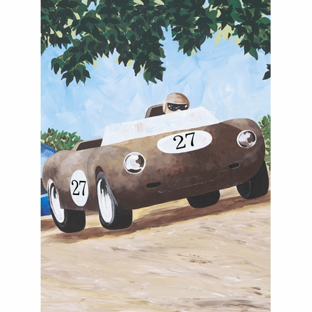 Classic Roadsters Canvas Reproduction