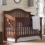 Classic Saddle Brown Convertible Crib