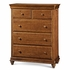 Classic Saddle Brown Drawer Chest