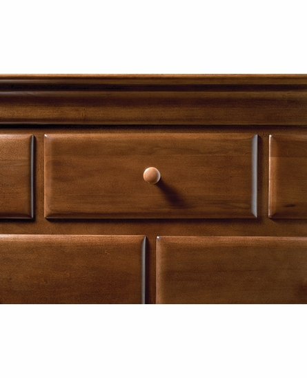 Classic Saddle Brown Dressing Chest