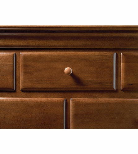 Classic Saddle Brown Single Dresser