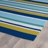 Classic Stripes Matira Rug in Blue