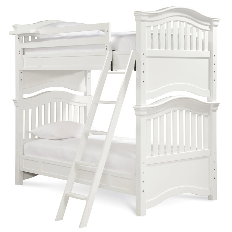 White Bunk Beds 800 x 800